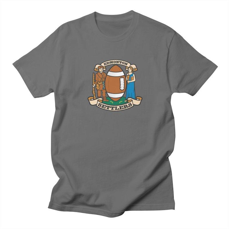 Edmonton Settlers Men's T-Shirt by Designs by Ryan McCourt