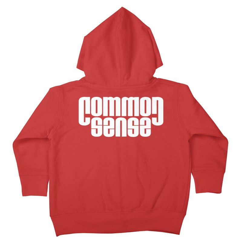Common Sense Kids Toddler Zip-Up Hoody by Designs by Ryan McCourt