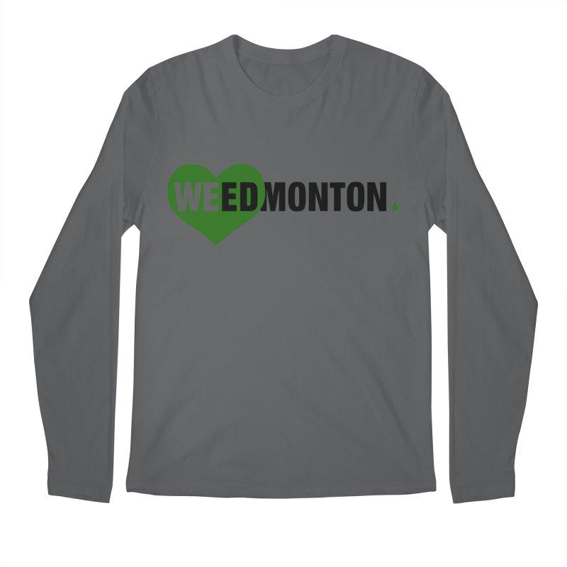 Weedmonton Men's Longsleeve T-Shirt by Designs by Ryan McCourt