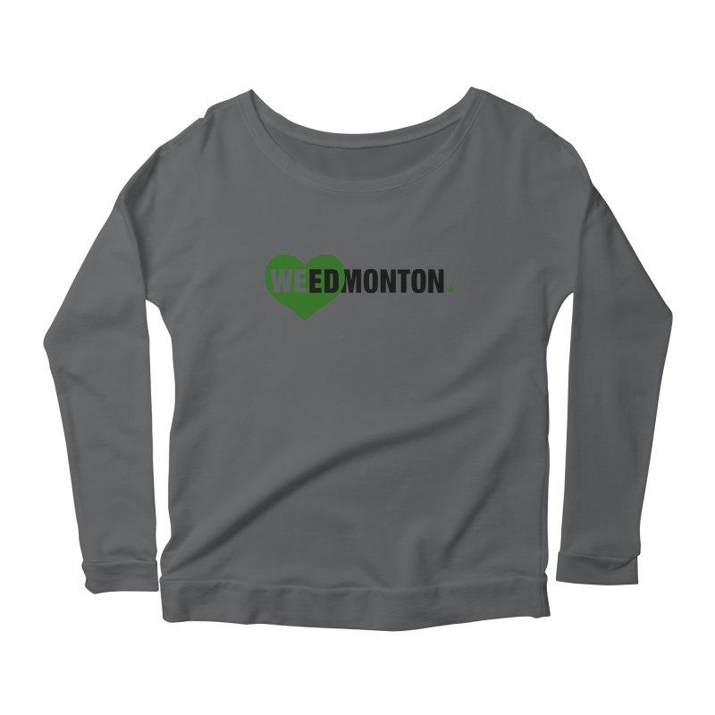 Weedmonton Women's Longsleeve T-Shirt by Designs by Ryan McCourt