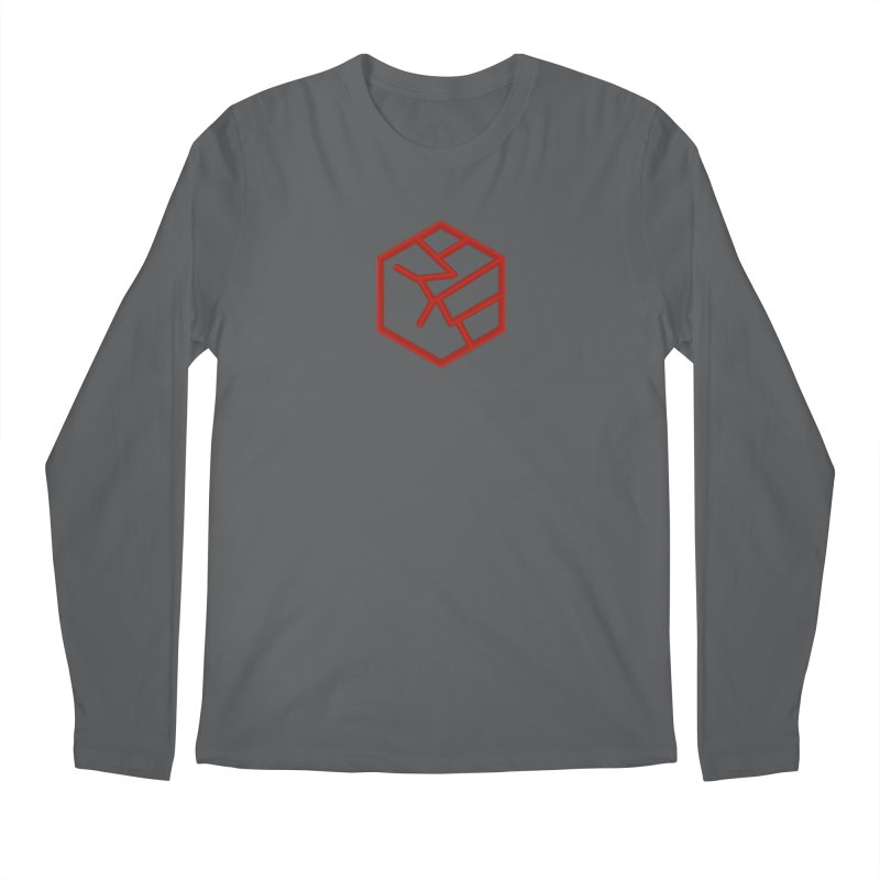 Hexagon Fist Men's Longsleeve T-Shirt by Designs by Ryan McCourt