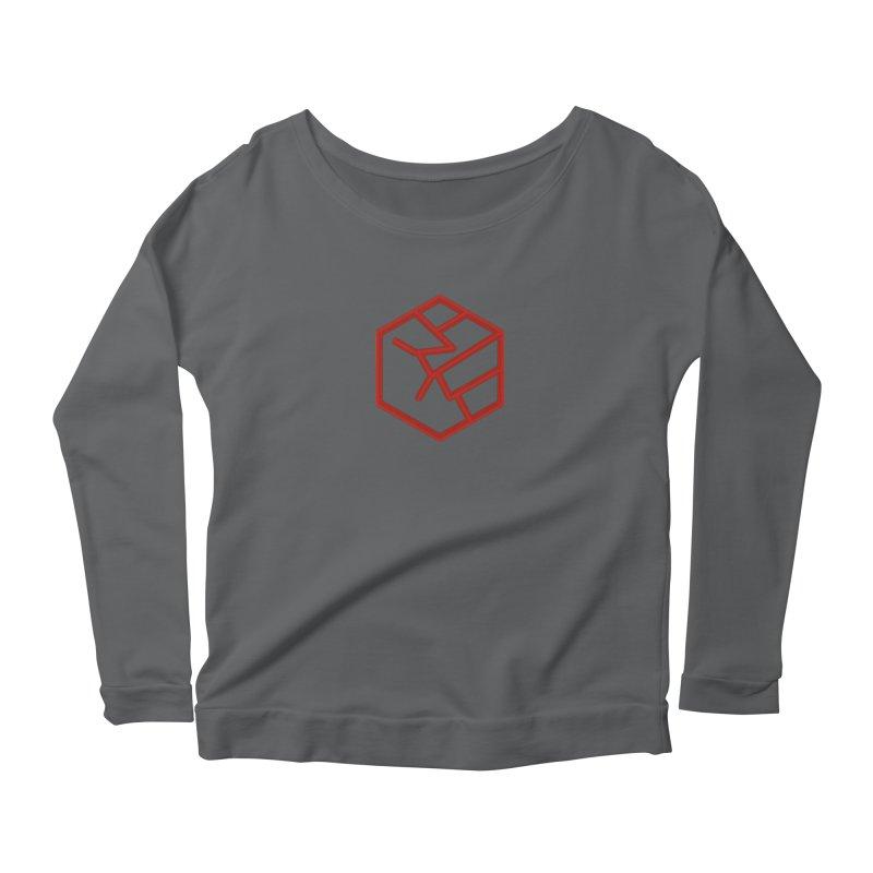Hexagon Fist Women's Longsleeve T-Shirt by Designs by Ryan McCourt