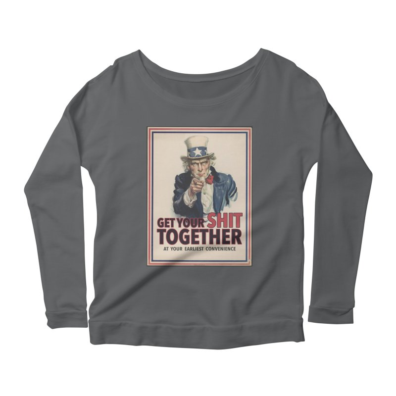Uncle Sam says... Women's Longsleeve T-Shirt by Designs by Ryan McCourt