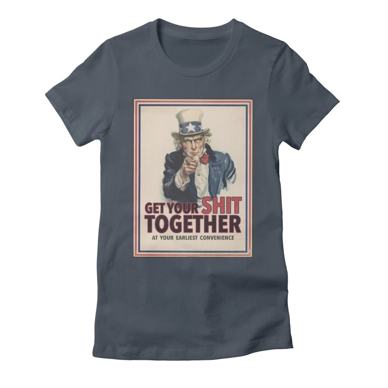 Uncle Sam says... Women's T-Shirt by Designs by Ryan McCourt