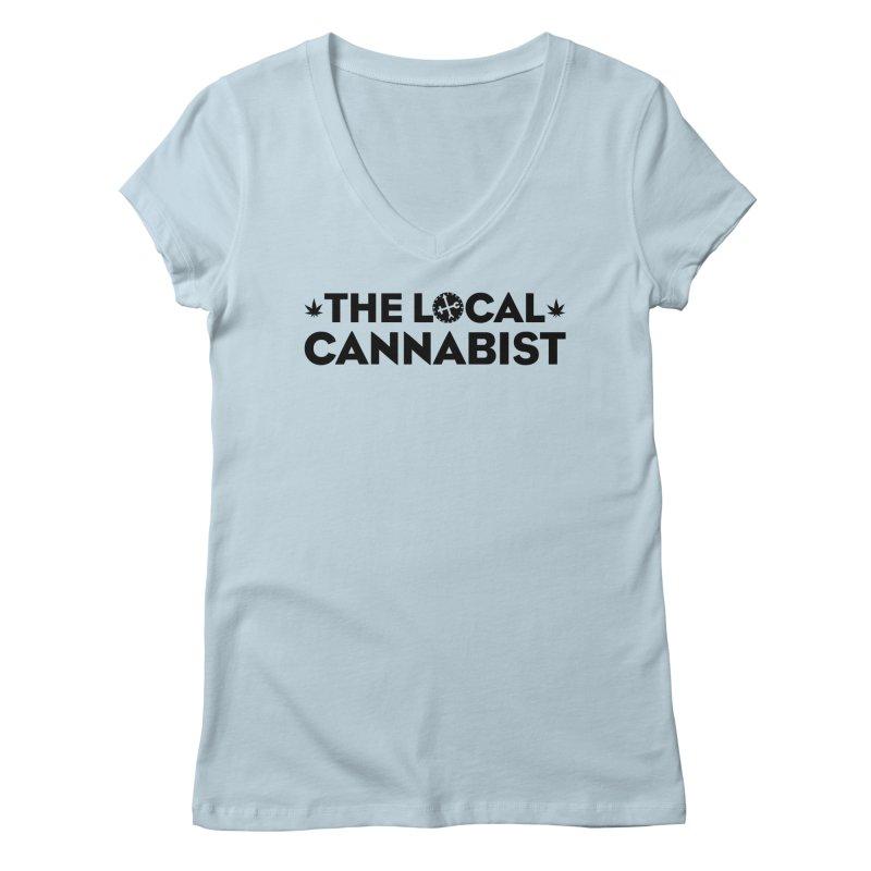TLC (text) LOGO Women's V-Neck by Designs by Ryan McCourt
