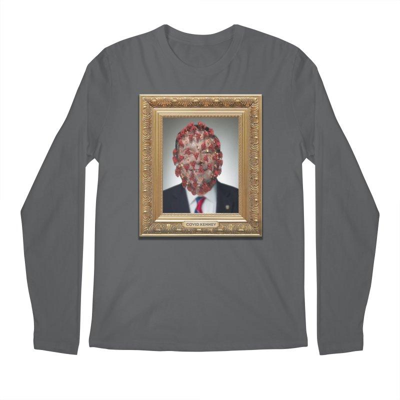 Covid Kenney Men's Longsleeve T-Shirt by Designs by Ryan McCourt