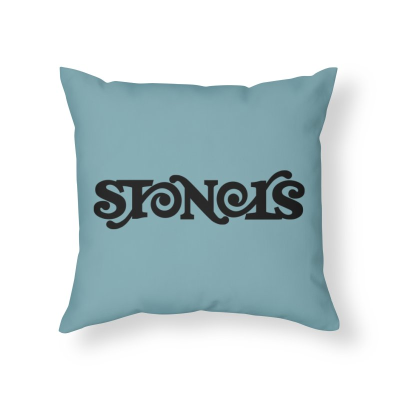 Stoners Home Throw Pillow by Designs by Ryan McCourt
