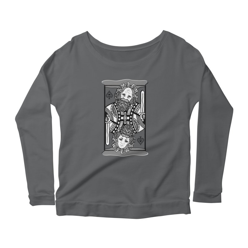 King of Spades Women's Longsleeve T-Shirt by Designs by Ryan McCourt