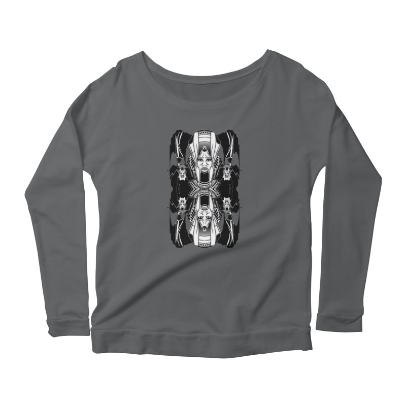 Isis & Anubis Women's Longsleeve T-Shirt by Designs by Ryan McCourt