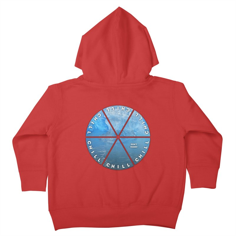 Chill Kids Toddler Zip-Up Hoody by Designs by Ryan McCourt