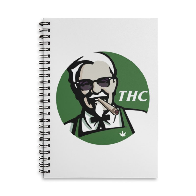 THC Accessories Notebook by Designs by Ryan McCourt