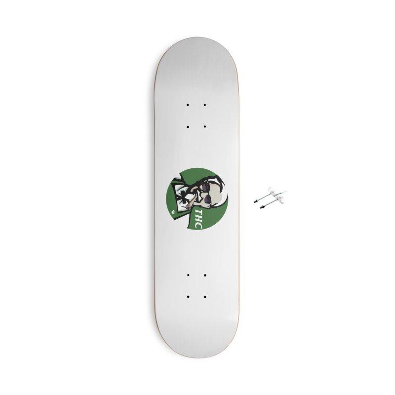 THC Accessories Skateboard by Designs by Ryan McCourt