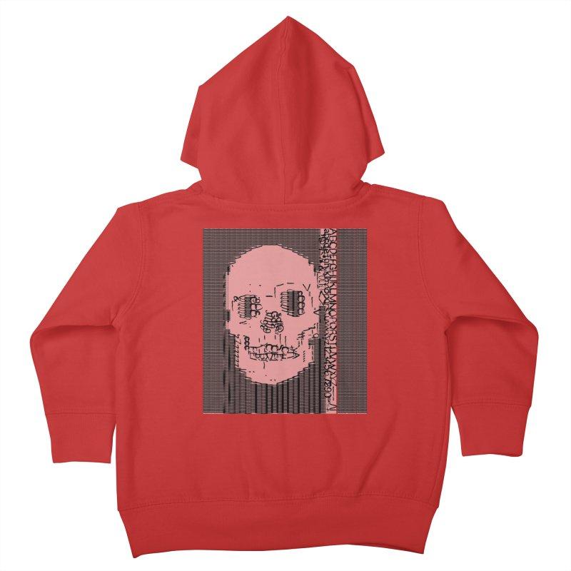 Skull Type Kids Toddler Zip-Up Hoody by Designs by Ryan McCourt