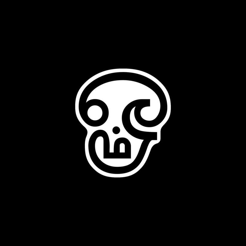 Om Skull Women's Longsleeve T-Shirt by Designs by Ryan McCourt