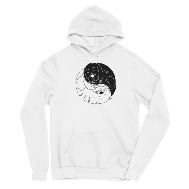 Cats And Dogs Men's Pullover Hoody by netralica