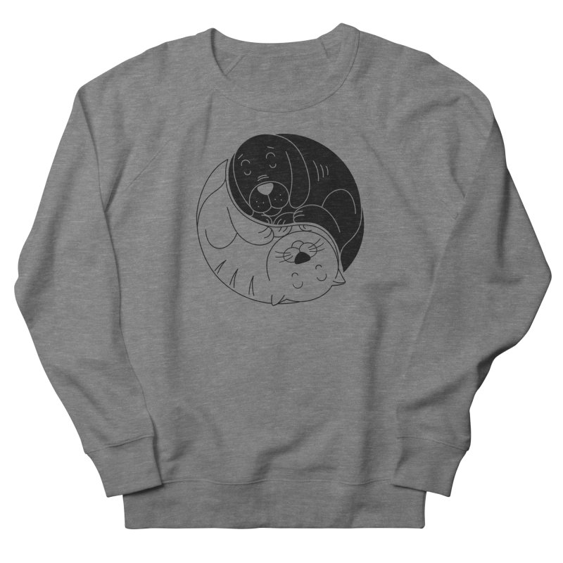 Cats And Dogs Men's Sweatshirt by netralica