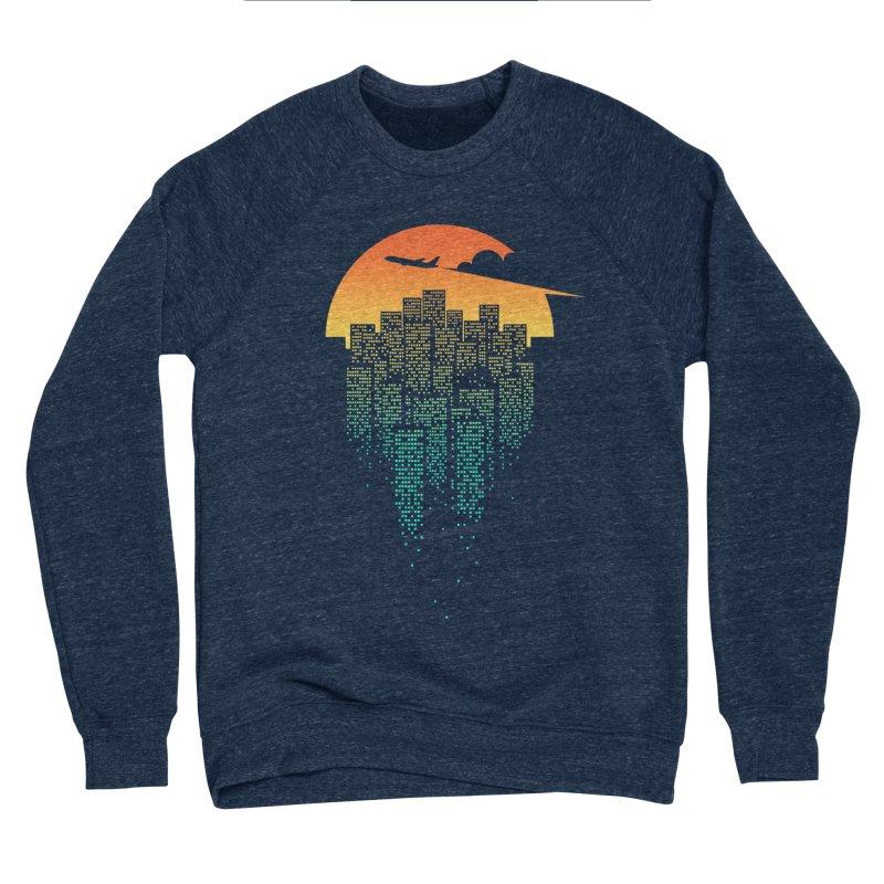 So Goodbye Men's Sponge Fleece Sweatshirt by netralica