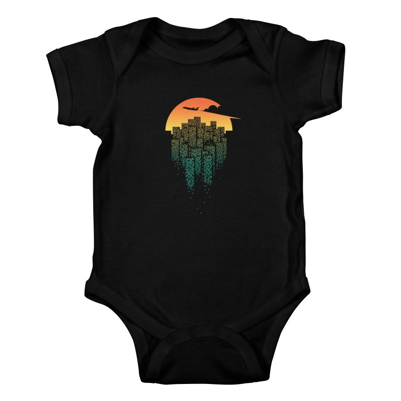 So Goodbye Kids Baby Bodysuit by netralica