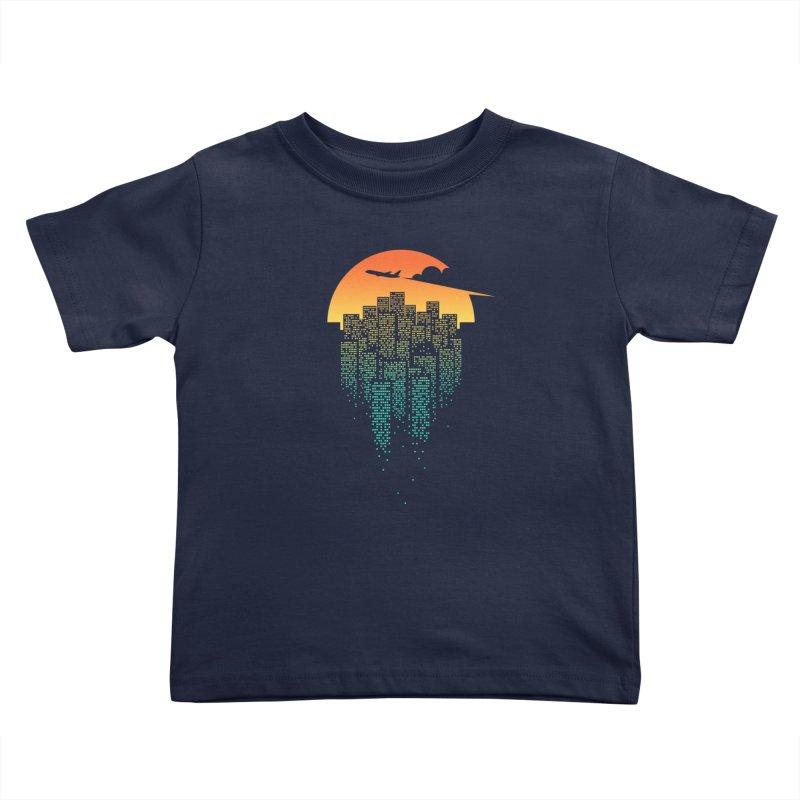 So Goodbye Kids Toddler T-Shirt by netralica