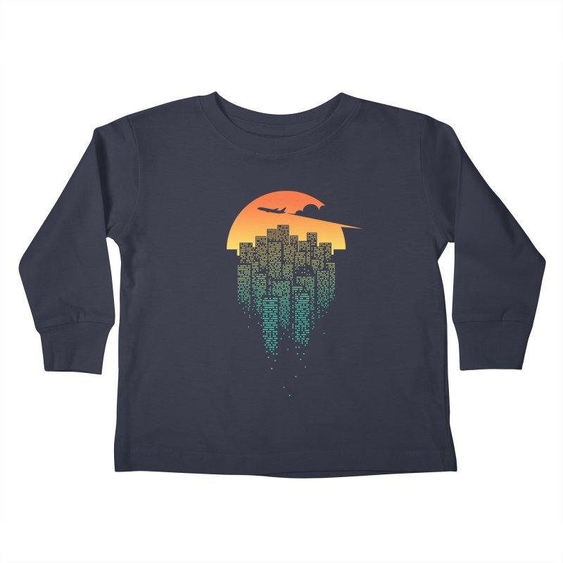 So Goodbye Kids Toddler Longsleeve T-Shirt by netralica