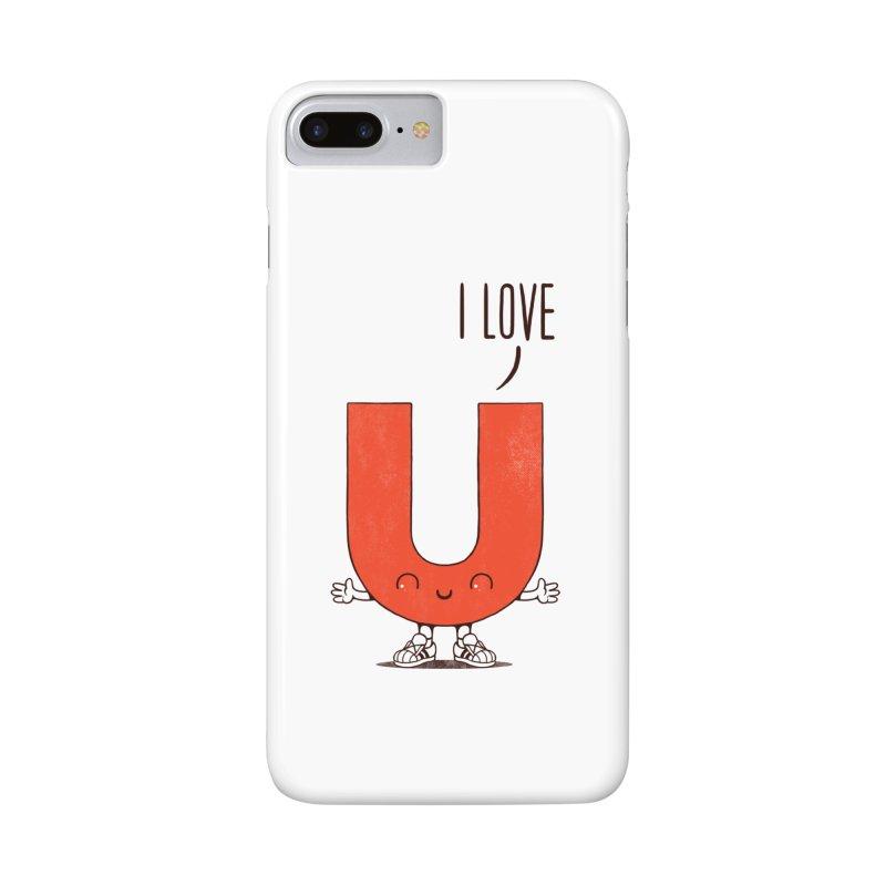 I LOVE U Accessories Phone Case by netralica