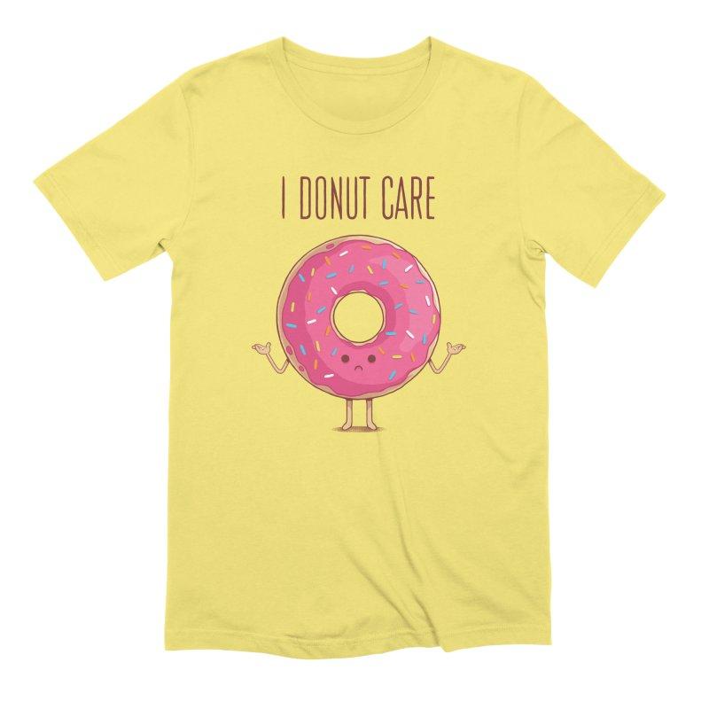 I DONUT CARE Men's T-Shirt by netralica