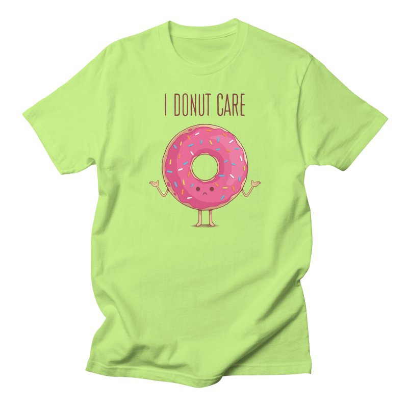 I DONUT CARE Men's Regular T-Shirt by netralica