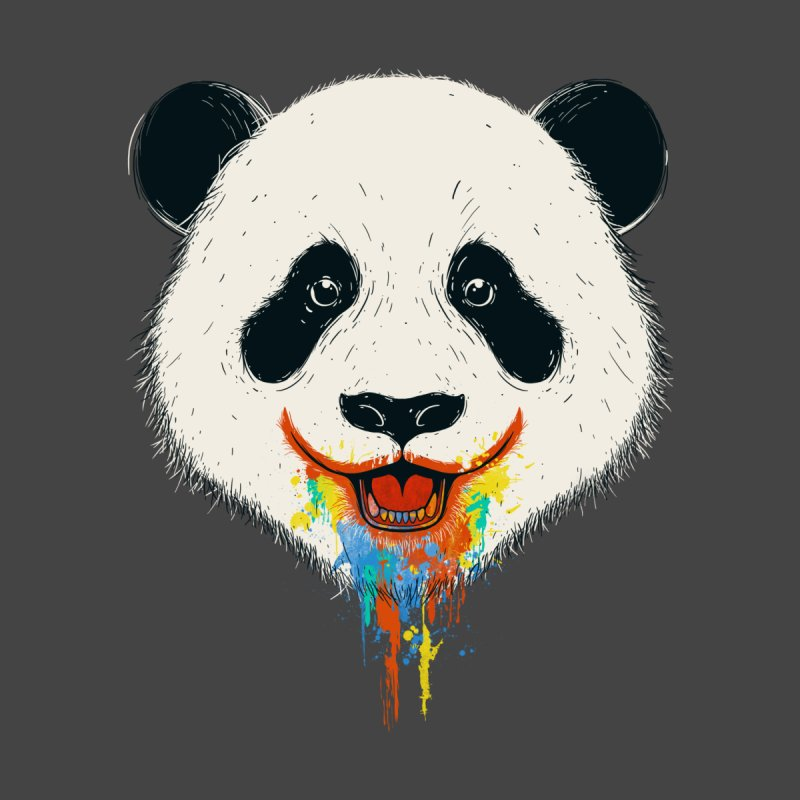 PANDA Kids T-Shirt by netralica