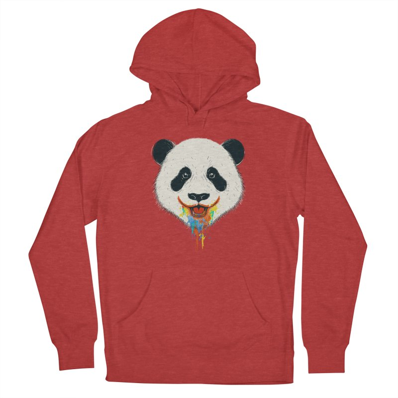 PANDA Men's French Terry Pullover Hoody by netralica