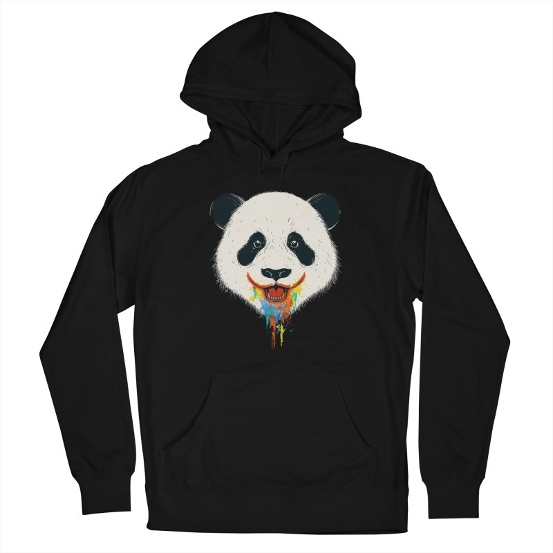 PANDA Women's French Terry Pullover Hoody by netralica