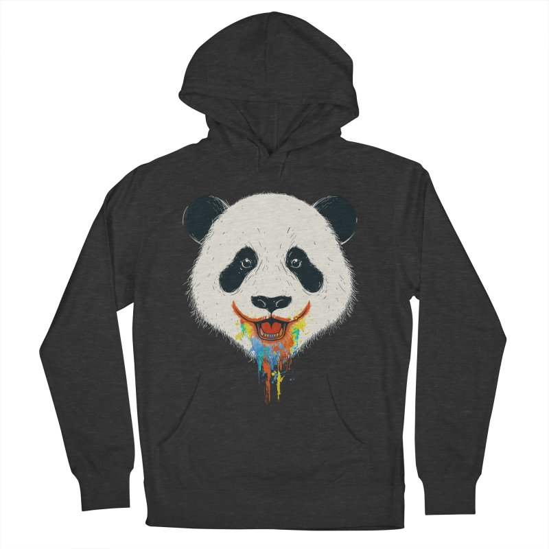 PANDA Women's French Terry Pullover Hoody by netralica's Artist Shop