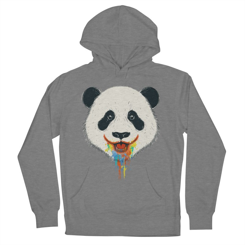 PANDA Men's French Terry Pullover Hoody by netralica's Artist Shop