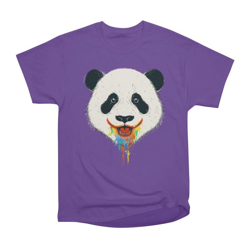 PANDA Women's Heavyweight Unisex T-Shirt by netralica's Artist Shop