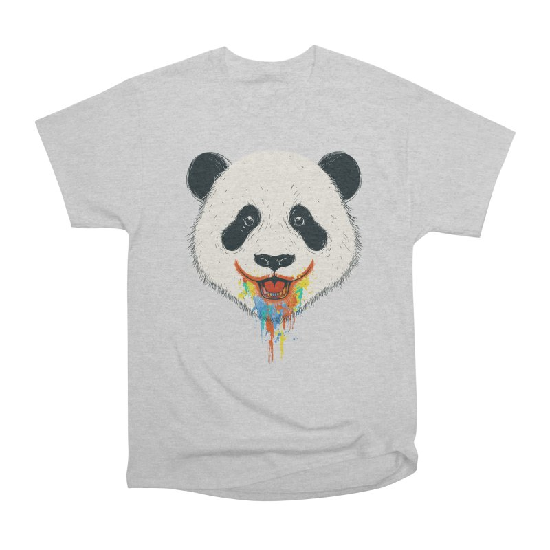 PANDA Women's Heavyweight Unisex T-Shirt by netralica's Artist Shop