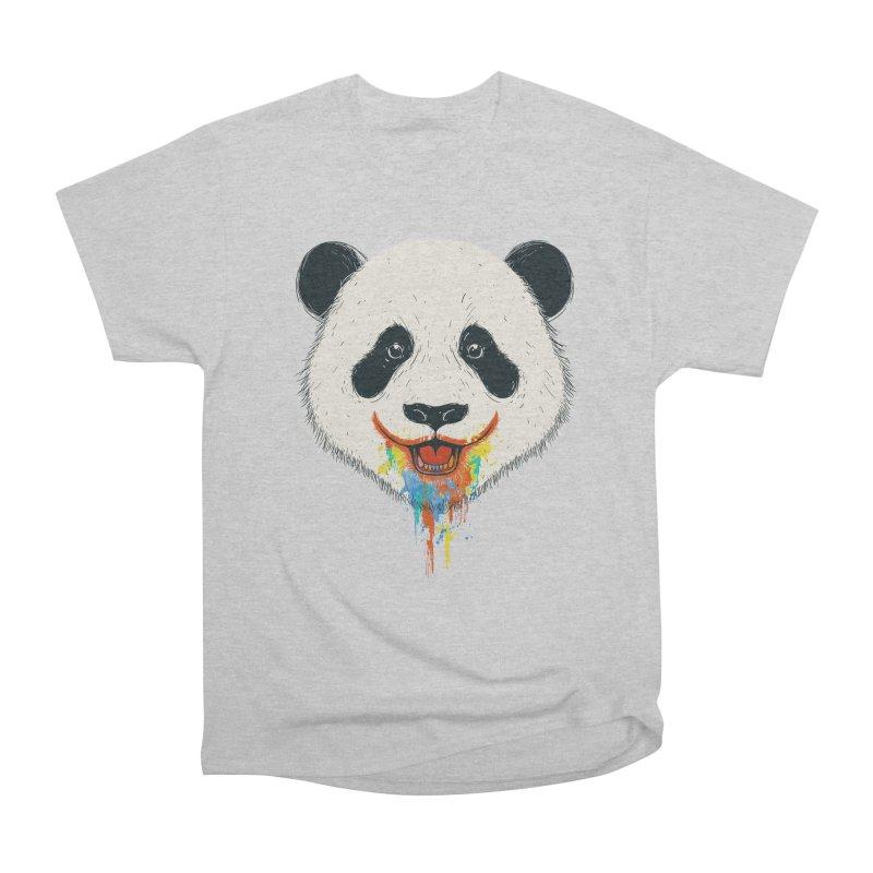 PANDA Men's Heavyweight T-Shirt by netralica