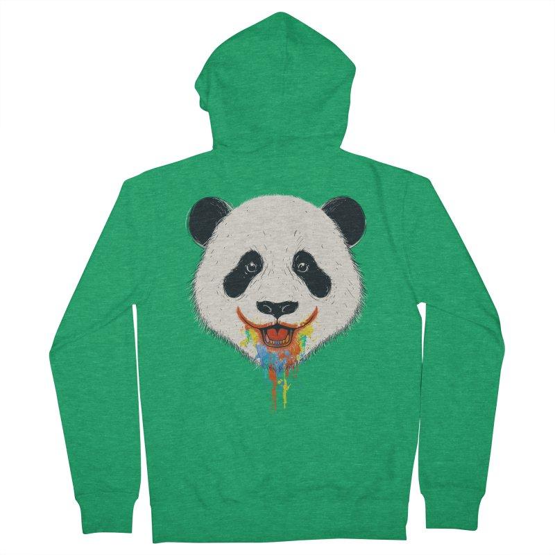 PANDA Men's Zip-Up Hoody by netralica's Artist Shop