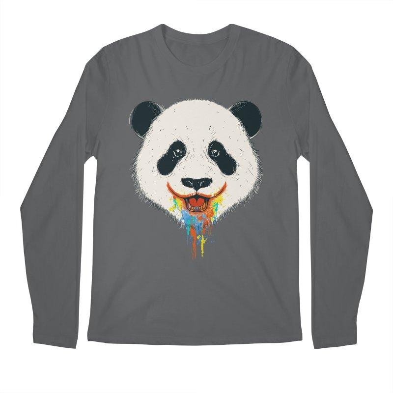 PANDA Men's Longsleeve T-Shirt by netralica's Artist Shop