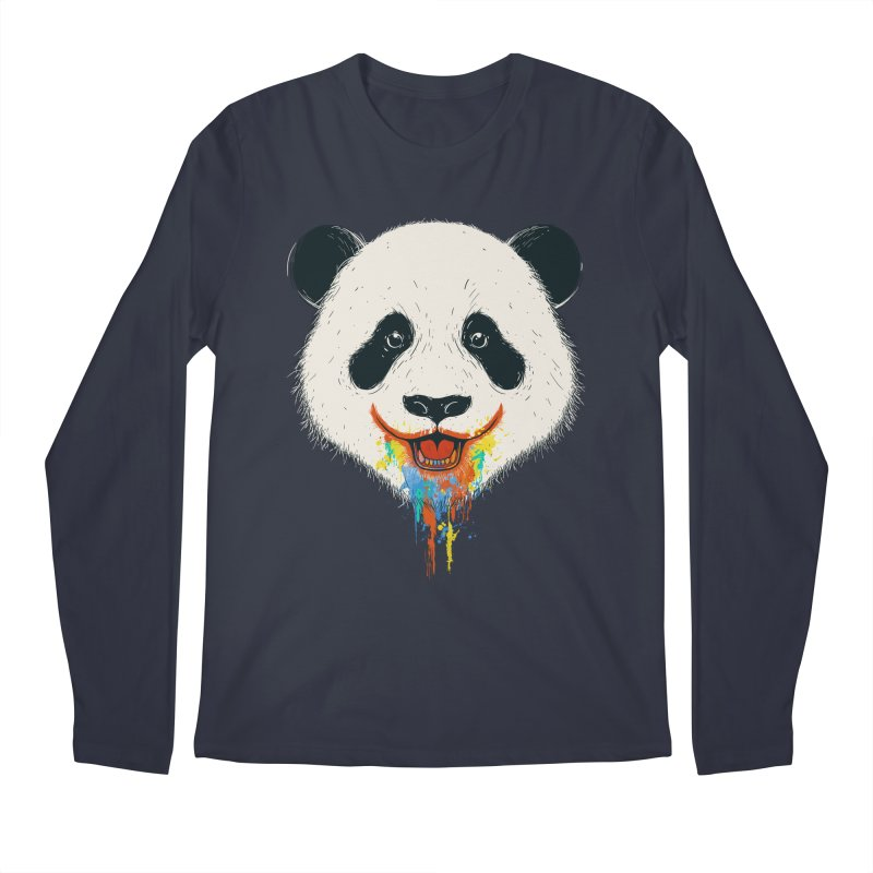 PANDA Men's Longsleeve T-Shirt by netralica's Artist Shop