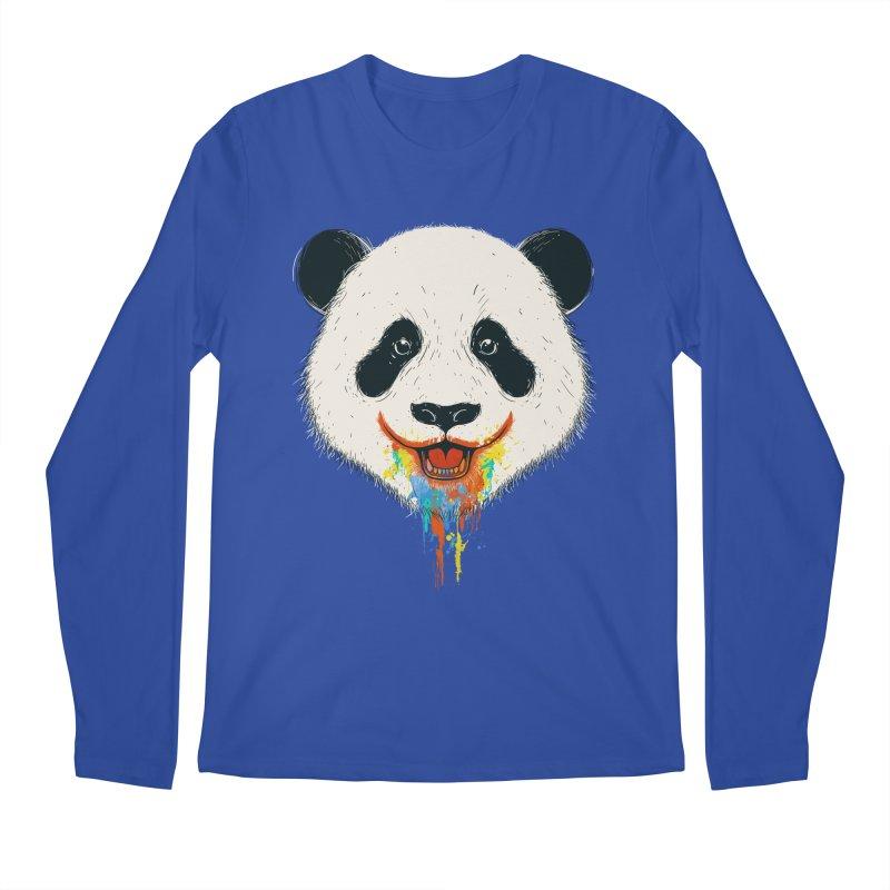 PANDA Men's Regular Longsleeve T-Shirt by netralica
