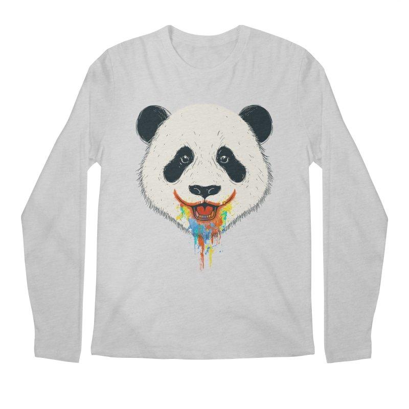 PANDA Men's Regular Longsleeve T-Shirt by netralica's Artist Shop