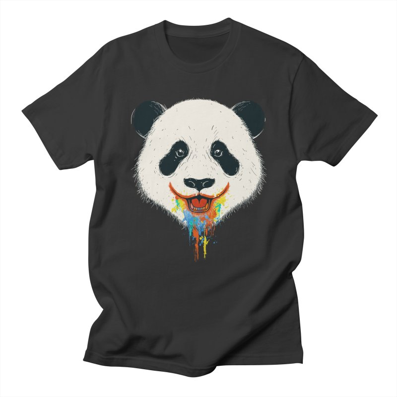 PANDA Women's Unisex T-Shirt by netralica's Artist Shop