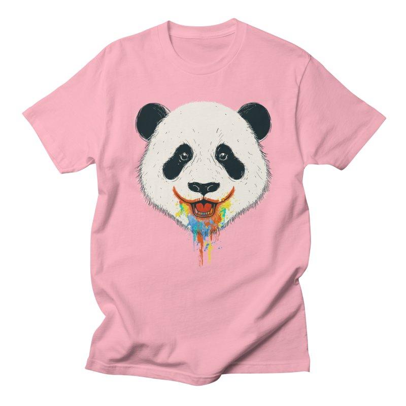 PANDA Men's Regular T-Shirt by netralica's Artist Shop