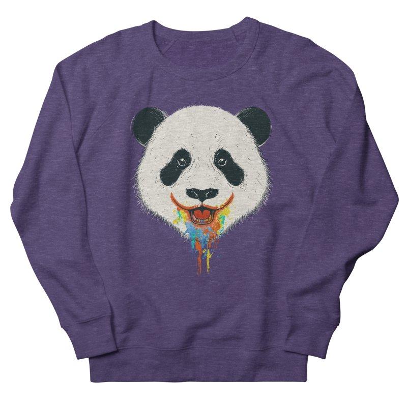 PANDA Women's French Terry Sweatshirt by netralica's Artist Shop
