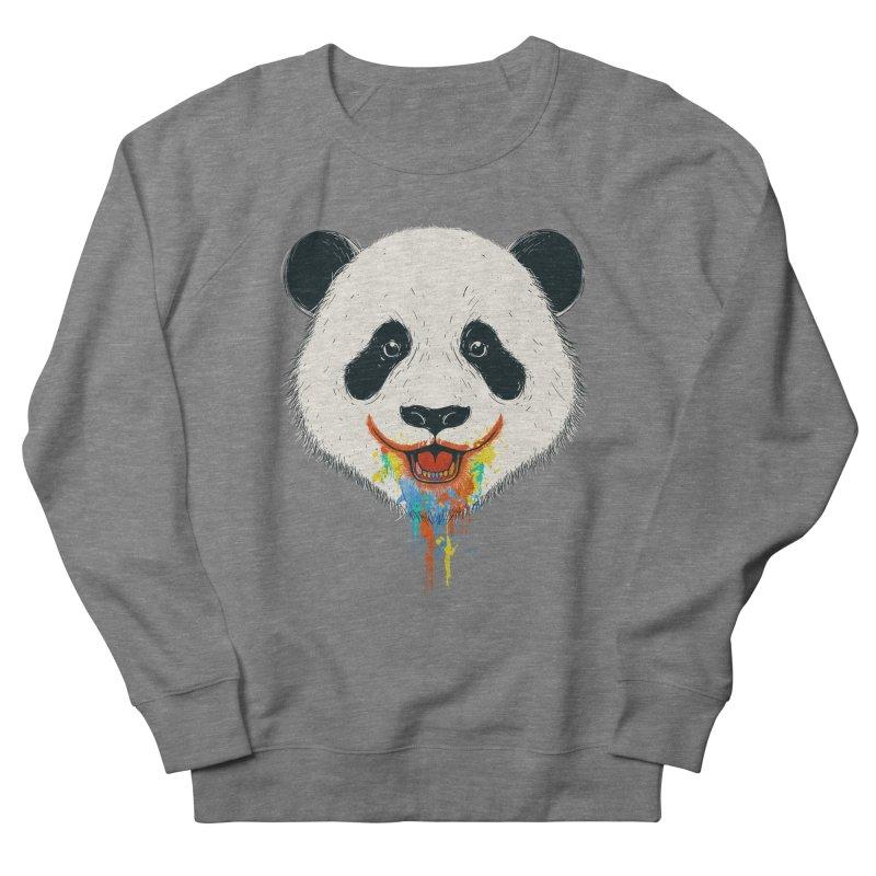 PANDA Women's French Terry Sweatshirt by netralica