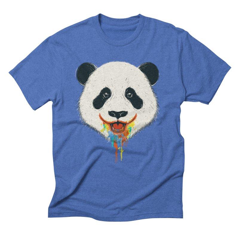 PANDA Men's Triblend T-Shirt by netralica