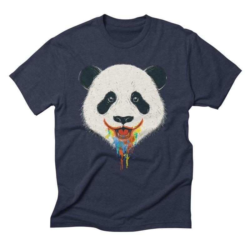 PANDA Men's Triblend T-Shirt by netralica's Artist Shop