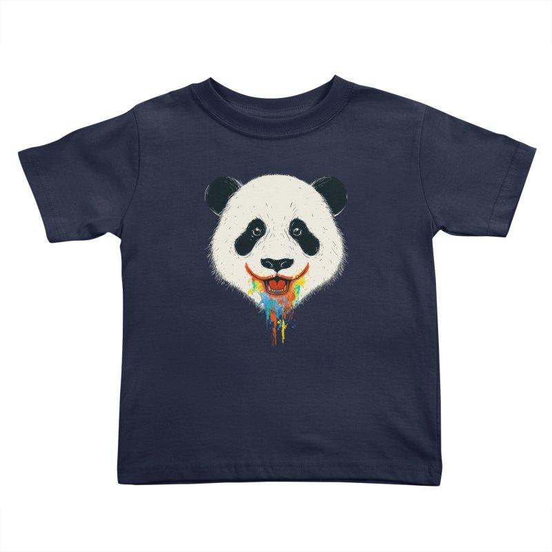 PANDA Kids Toddler T-Shirt by netralica's Artist Shop