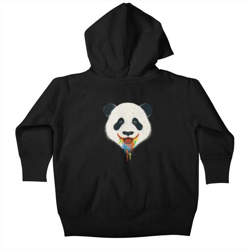PANDA Kids Baby Zip-Up Hoody by netralica's Artist Shop