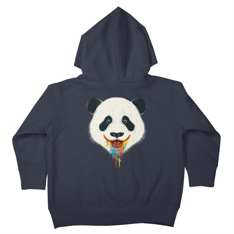 PANDA Kids Toddler Zip-Up Hoody by netralica