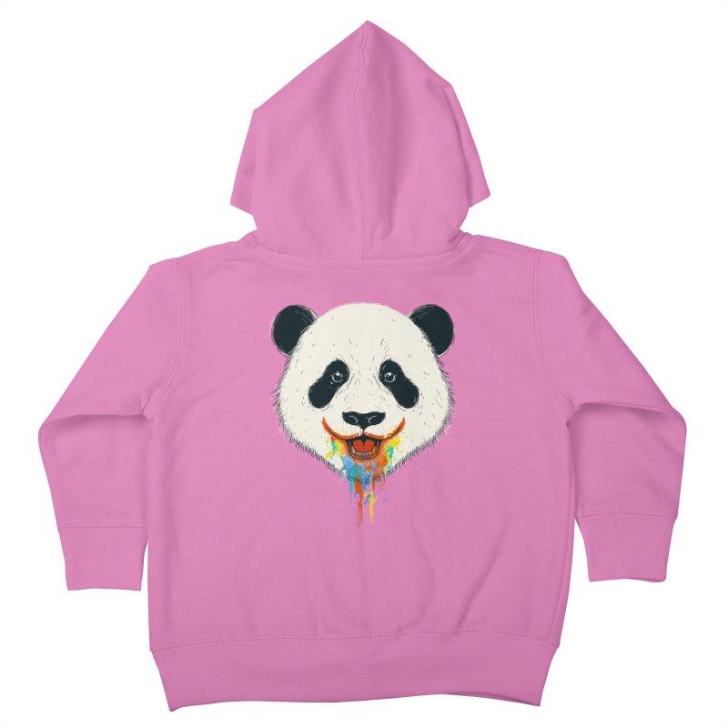 PANDA Kids Toddler Zip-Up Hoody by netralica's Artist Shop
